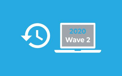Business Central Release 2020 Wave 2