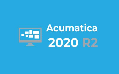 Top New Features in Acumatica 2020 R2